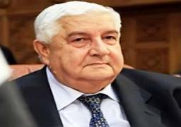 وزير الخارجية السوري يزور دولة خليجية للمرة الاولى منذ بدء النزاع