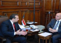 وزير الزراعة: تبادل المنتجات الزراعية والحيوانية بين مصر ومقدونيا