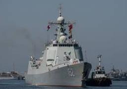 """""""أسطول 152"""" البحري الصيني يصل إلى مصر في زيارة تستمر 5 أيام"""