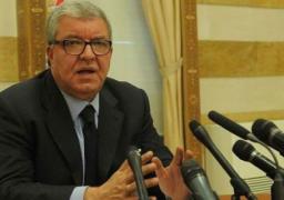 وزير الداخلية اللبناني يتعهد بالتعامل بحسم مع أي محاولات لاقتحام مؤسسات الدولة