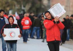 وصول مساعدات إنسانية إلى قرى سورية محاصرة