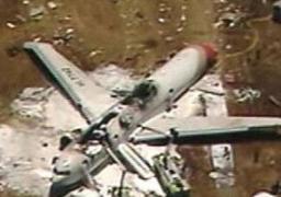 مقتل 4 أشخاص فى تحطم طائرة بجنوب غرب انجلترا