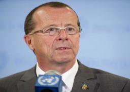 المبعوث الأممي لدى ليبيا يلتقي بأعضاء الحوار السياسي الليبي
