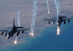 طيران التحالف يقصف معسكر الصواريخ بجبل عطان ومقر الإشغال العسكرية في بصنعاء