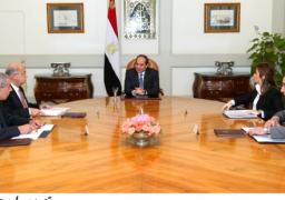 الرئيس يوجه الحكومة بمواصلة إجراءات الإصلاح الاقتصادى وتنمية الصعيد