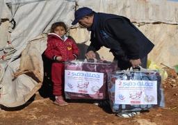 2 مليون جنيه من الأطباء العرب لإغاثة المتضررين فى سوريا ومخيمات اللاجئين فى الأردن ولبنان