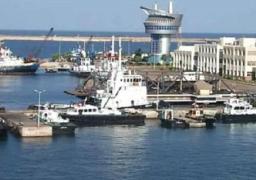 ميناء دمياط يستقبل 11 سفينة للحاويات والبضائع العامة