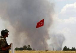 "تركيا تعلن قتل 104 من مقاتلى ""داعش""فى غارات وقصف برى"