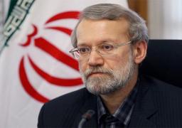 انتخاب لاريجاني رئيسا مؤقتا لمجلس الشورى الإيراني في دورته العاشرة