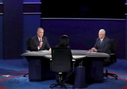 المرشحان لمنصب نائب الرئيس الامريكى يخوضان مناظرة ساخنة