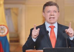 """بعد فوزه بنوبل للسلام..الرئيس الكولومبي يهدي الجائزة """"للملايين من ضحايا النزاع"""""""