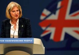 رئيسة وزراء بريطانيا تشدد على أهمية تحديد موعد الخروج من الاتحاد الأوروبي