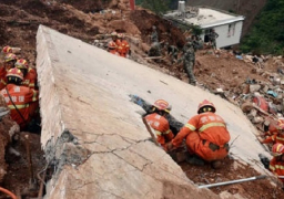 ارتفاع حصيلة ضحايا وقوع انهيارين أرضيين جنوب شرق الصين إلى 16 قتيلا