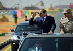 بالفيديو والصور.. الرئيس السيسي يشهد إجراءات التفتيش ورفع الكفاءة للفرقة 19 بالجيش الثالث الميداني بالسويس