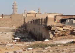 الاثار: البدء في ترميم مقابر اثرية بالامام الشافعي بعد هبوط أرضي