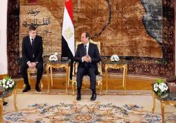 الرئيس السيسي يؤكد اعتزاز مصر بالروابط الوثيقة مع روسيا