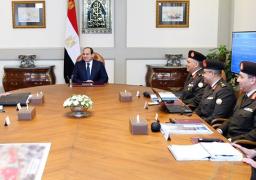 الرئيس السيسي يجتمع مع رئيس الهيئة الهندسية للقوات المسلحة