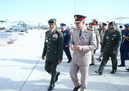 رئيس اركان القوات المسلحة يعود من الإمارات