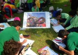 """""""لمحات من الهند"""" مسابقة فنية في متحف الطفل.. غداً"""