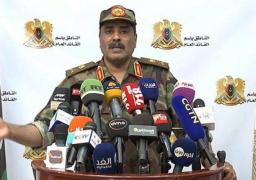 الجيش الليبى : حكومة الوفاق تحضر مطار معيتيقة لاستقبال آليات تركية