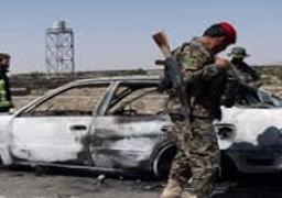 مقتل 8 جنود أفغان في تفجير سيارة في إقليم هلمند جنوبي البلاد