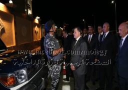 وزير الداخلية يقوم بجولة ميدانية بنطاق مدينة أسوان