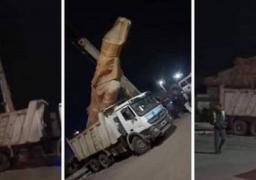 الآثار ترد على الصورة المتداولة لتمثال الملك رمسيس الثانى