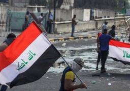 تجدد المصادمات بين المتظاهرين والأمن العراقى فى ساحة الطيران وسط بغداد