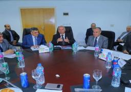 بالصور..وزير النقل يتابع تنفيذ المحطة متعددة الأغراض بميناء الإسكندرية