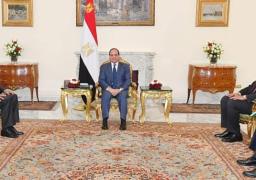 الرئيس عبد الفتاح  السيسي يؤكد التزام مصر بإنجاح  المفاوضات الثلاثية بمسار  واشنطن الخاصة بـ  سد_النهضة