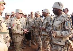 """رئيس أركان حرب القوات المسلحة يشهد المرحلة الرئيسية لمشروع مراكز القيادة الخارجى """" بشير 21 """""""