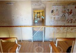 """الاثار تطلق زيارة افتراضية لمقابر """"مننا"""" بالأقصر"""