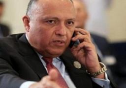 وزير الخارجية يتلقى اتصالاً هاتفياً من وزيرة الخارجية الأسبانية