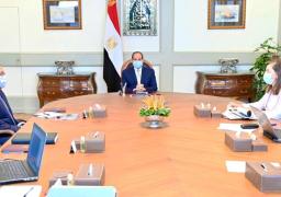 الرئيس السيسي يجتمع برئيس الوزراء ووزيرة التخطيط ورئيس هيئة الشراء الموحد ومدير صندوق مصر السيادي