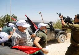 إصابة 6 فلسطينيين خلال قمع الاحتلال الإسرائيلي فعالية سلمية في نابلس