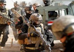 قوات مكافحة الارهاب العراقي تشن حملة تفتيش للبحث عن مطلقى صواريخ كاتيوشا