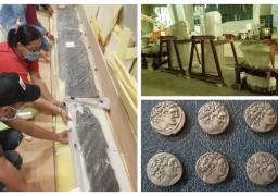 المتحف المصري الكبير يستقبل 2000 قطعة أثرية|صور