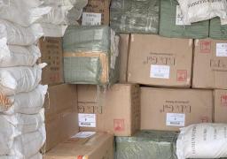 إحباط تهريب بضائع بقيمة 400 ألف جنيه وكميات من المخدرات عبر المنافذ الجمركية