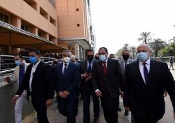 بالصور:  رئيس الوزراء يتفقد أعمال إعادة تأهيل مباني المعهد القومي للأورام وتطوير خدماته