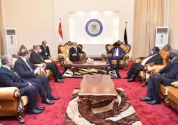 خلال لقاءه مع الرئيس سلفا كير .. الرئيس السيسى يؤكد دعم مصر الكامل لحكومة جنوب السودان