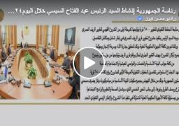 بالفيديو : الرئيس عبد الفتاح السيسي يوجه بتنفيذ مشروع تطوير قرى الريف المصري في إطار شامل ومتكامل التفاصيل وبالتناغم بين كافة الأجهزة الحكومية المعنية