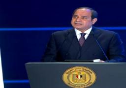 السيسي: مشروع تطوير الريف المصري فرصة كبيرة للصناعة الوطنية