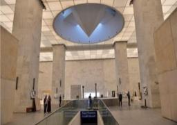 متحف الحضارة : ممنوع التصوير داخل قاعة المومياوات الملكية بالمتحف لحمايتها