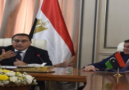 مدبولى: الرئيس السيسي حريص على دعم المشروعات التنموية في ليبيا