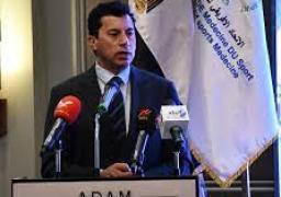 وزير الرياضة يفتتح المؤتمر الإفريقي الدولي للطب الرياضي