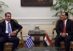 بالصور .. رئيسا وزراء مصر واليونان يترأسان جلسة مباحثات موسعة