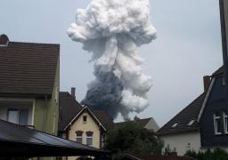ارتفاع حصيلة ضحايا انفجار مجمع للكيماويات في ألمانيا الي قتيلين
