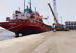 18 سفينة إجمالي الحركة الملاحية بموانئ بورسعيد في 24 ساعة