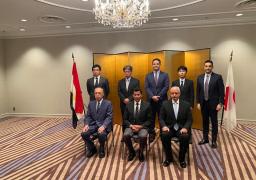 وزير الرياضة يلتقي رئيس مركز اليابان ومحافظة طوكيو