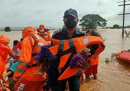 124 قتيلا وعشرات المفقودين حصيلة الأمطار الموسمية الغزيرة في الهند